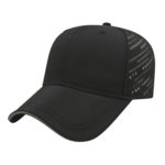Black Gray Golf Cap Contrast Visor
