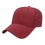 Cardinal Red & Black Golf Caps