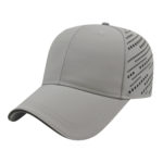 Gray Black Golf Tournament Caps