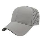 Gray Black Golf Tournament Caps