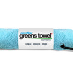 Greens Towel Caribbean Blue