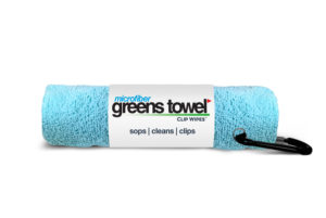 Greens Towel Caribbean Blue